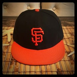 Majestic Fitted San Francisco Giants Baseball Cap